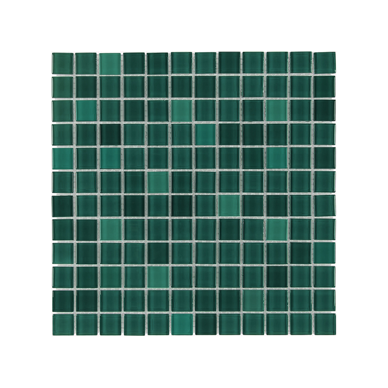Togama Series Greenish Blue Mosaic Tile 334mm x 334mm 020225Y
