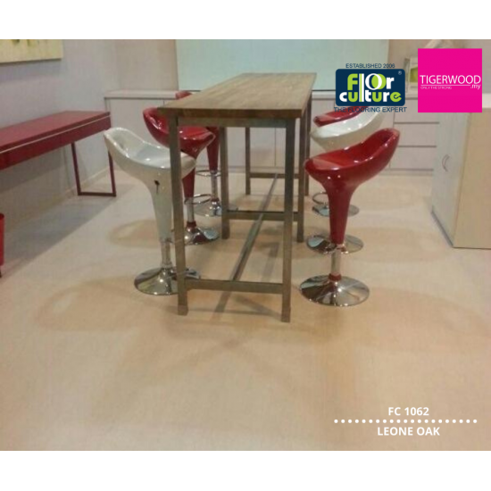 PROMOTION [RM3.99/SQFT]  12MM LAMINATE FC 1062 LEONE OAK (SMOOTH SURFACE)