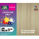 PROMOTION [RM 2.99/SQFT] 8MM LAMINATE FC 10732 TEAK ALLOVER (SMOOTH SURFACE)