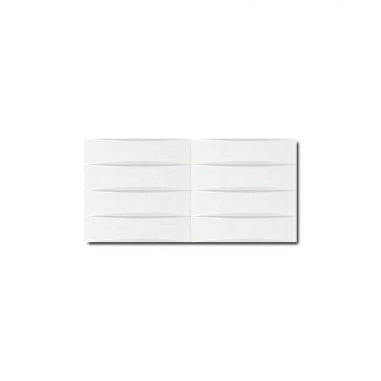 Macarons Series White Convex Shape Subway Tiles 20STR001