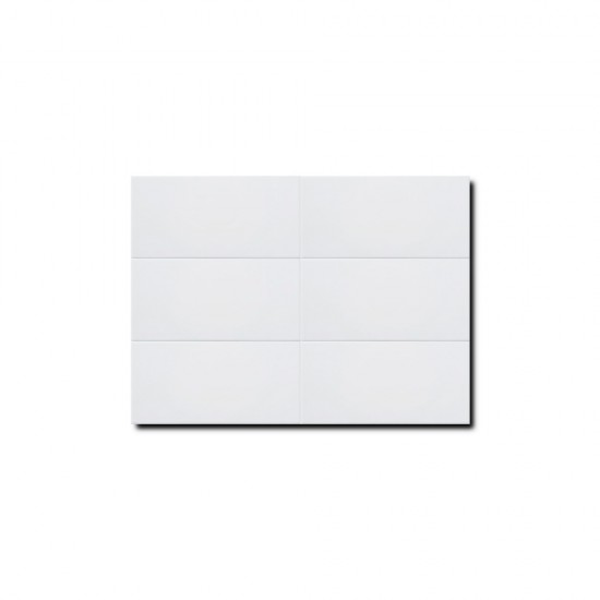 Tairanaha Series White Matt Subway Tiles M1200Y