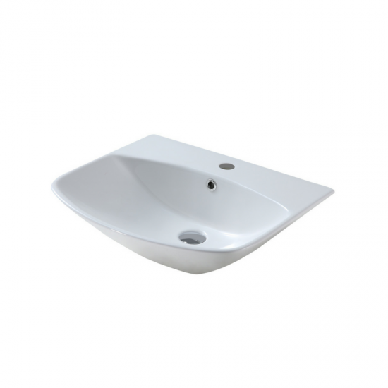 Neuchatel Adriatic Square 560 Wall-Hung Basin BSWHADS560WT