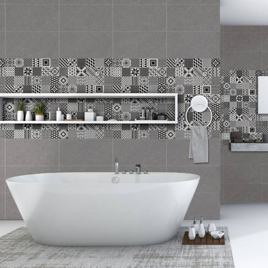 White Horse Estetico Series S63014 Glazed Tiles 300mm x 600mm